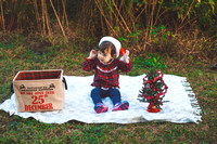 Amelia's Christmas Photos